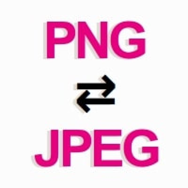 PNG ⇔ JPG