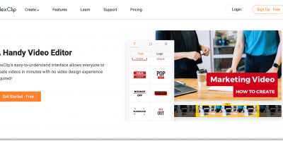 FlexClip 無料のオンラインビデオメーカー