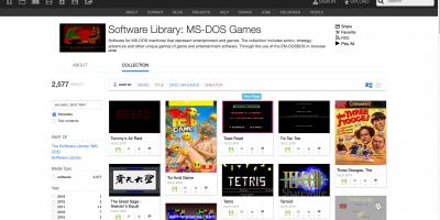 MS-DOSゲーム ソフトウェアライブラリ