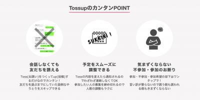 Tossup(トスアップ)