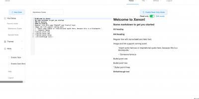 Xenon Editor