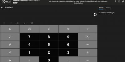 Uno Calculator